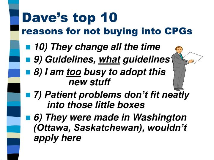 Dave's top 10