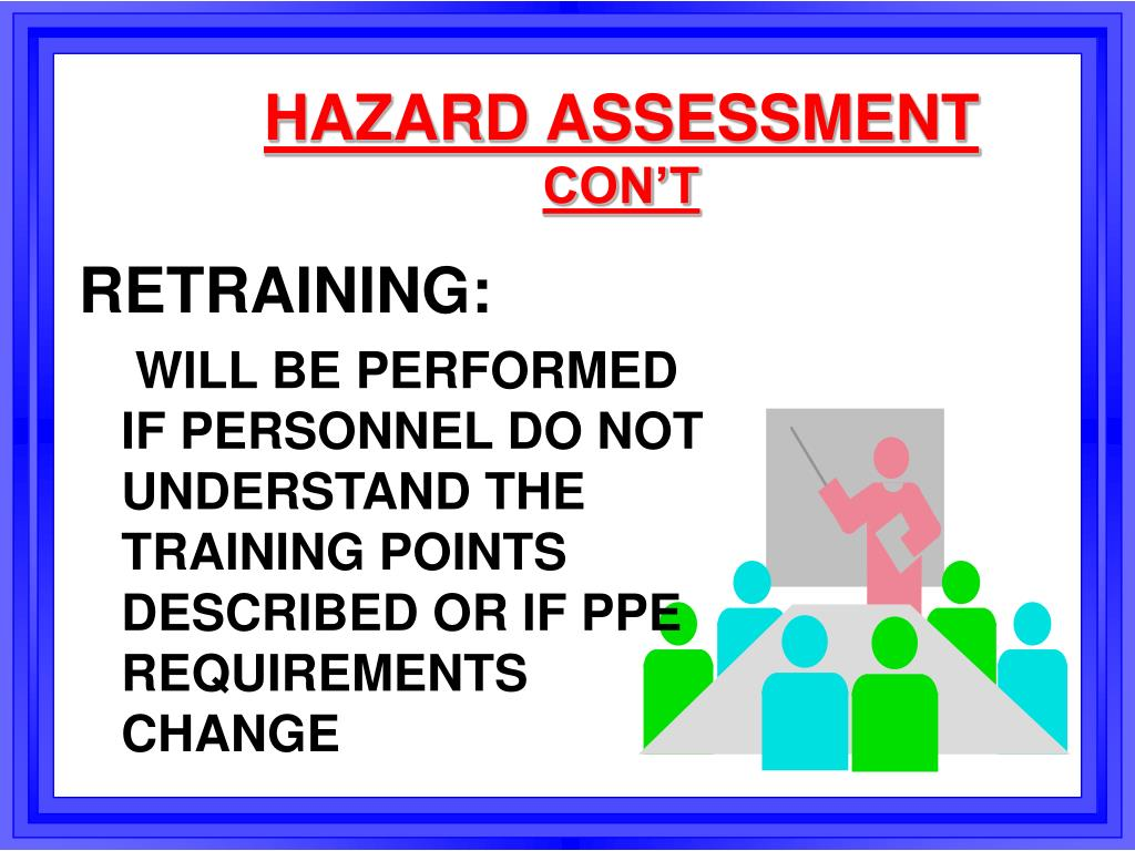 HAZARD ASSESSMENT