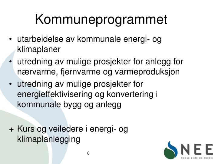 Kommuneprogrammet