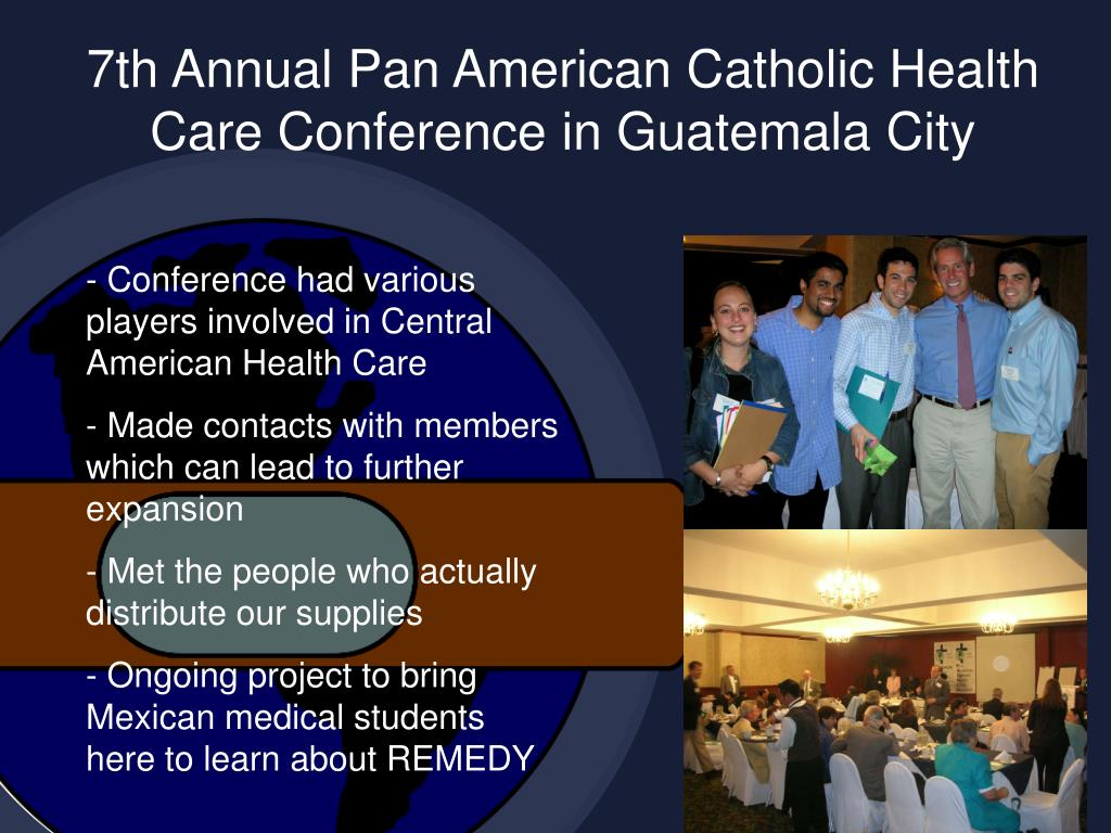 7th Annual Pan American Catholic Health Care Conference in Guatemala City