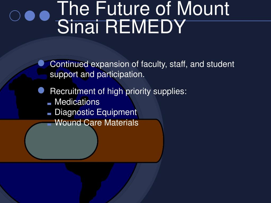 The Future of Mount Sinai REMEDY