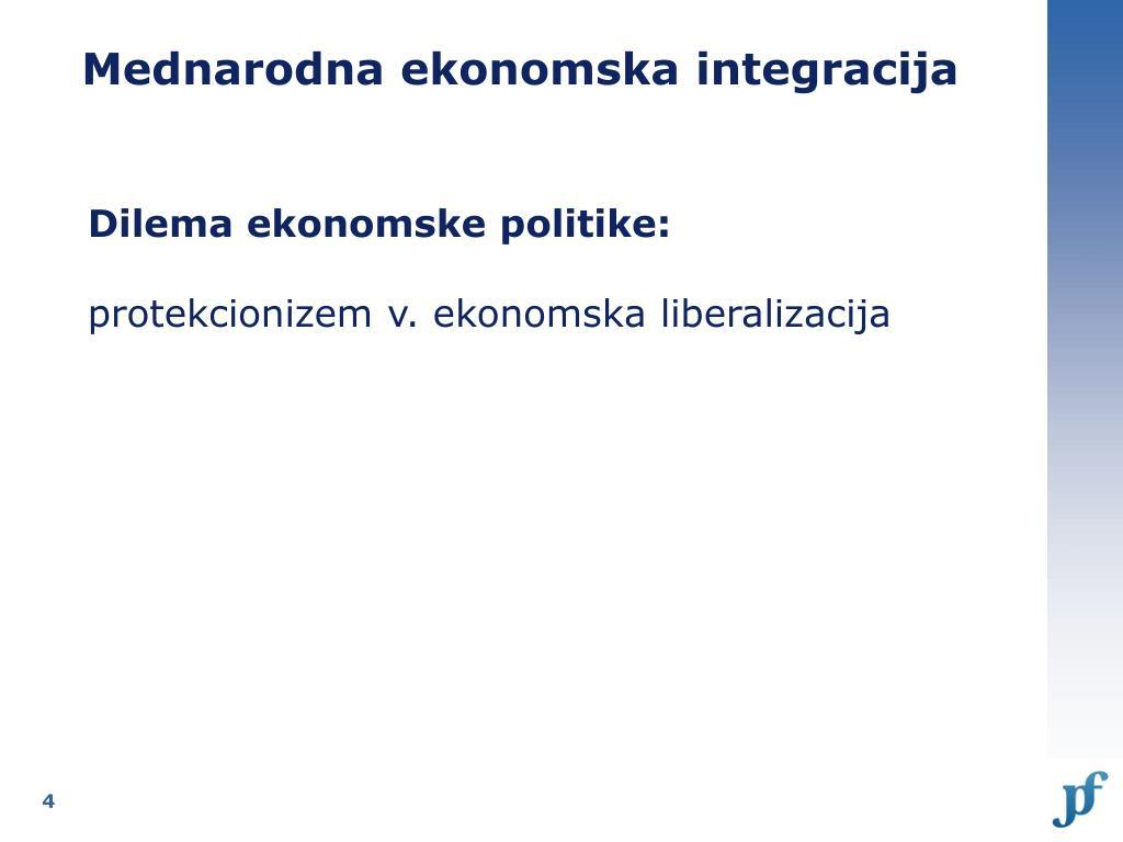 Mednarodna ekonomska integracija