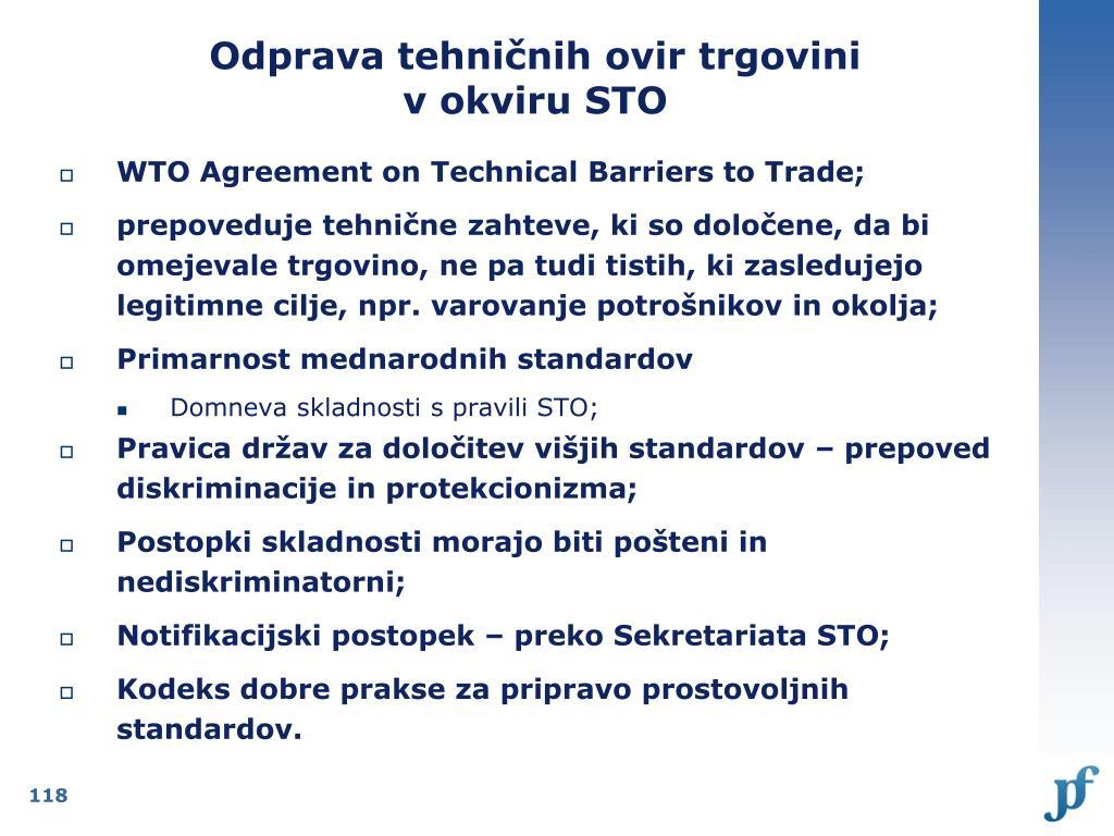 Odprava tehničnih ovir trgovini