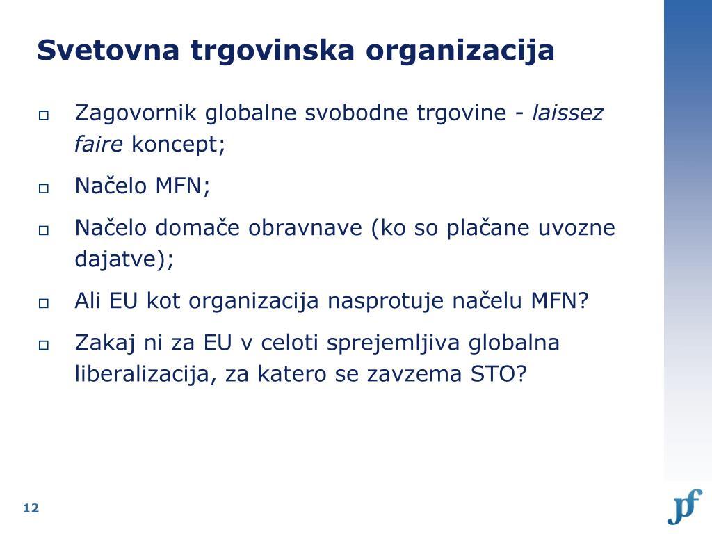 Svetovna trgovinska organizacija
