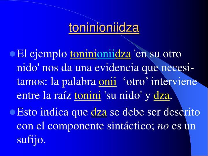 toninioniidza