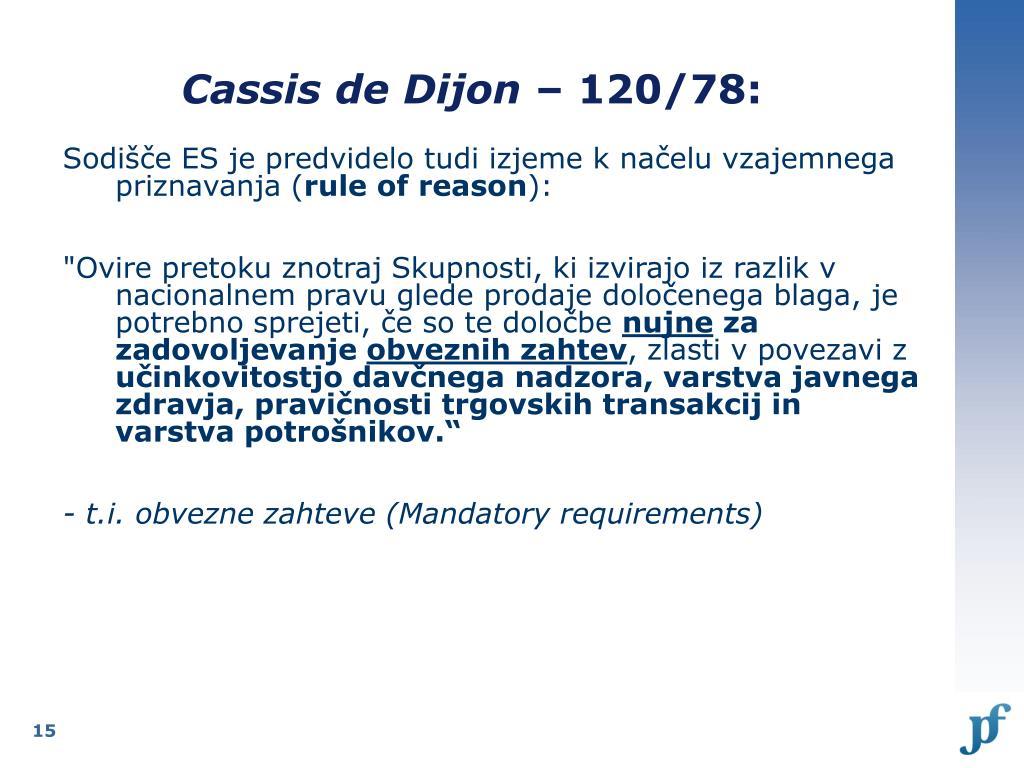 Cassis de Dijon