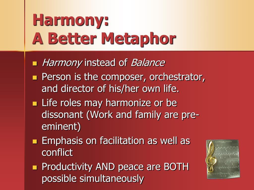 Harmony:
