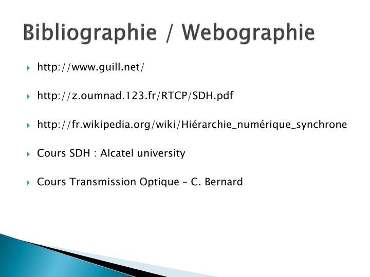 Bibliographie /
