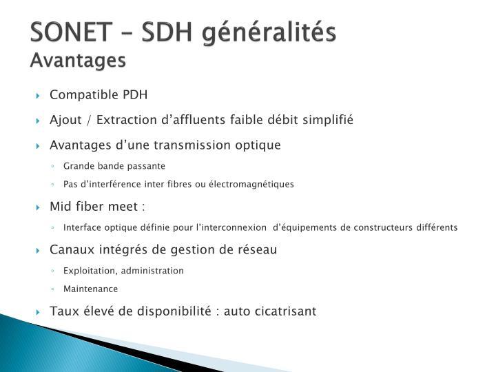 SONET – SDH