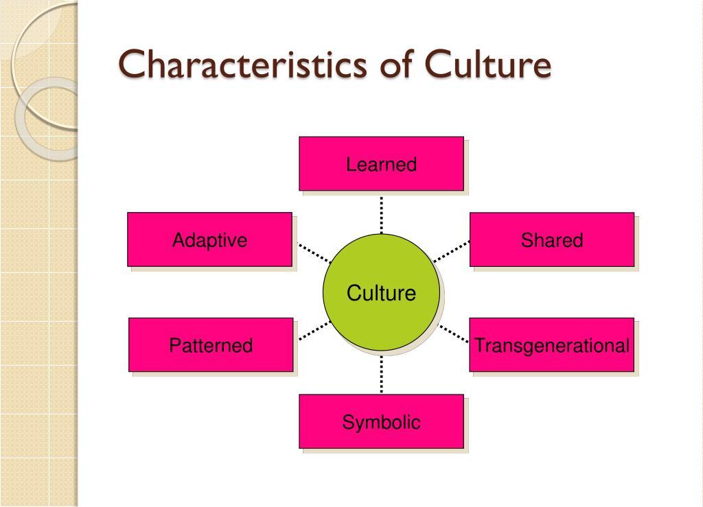 Characteristics of Culture