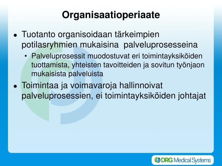 Organisaatioperiaate