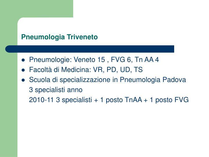 Pneumologia Triveneto