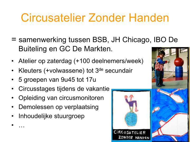 Circusatelier Zonder Handen
