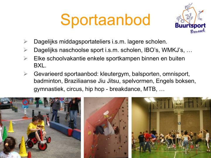 Sportaanbod