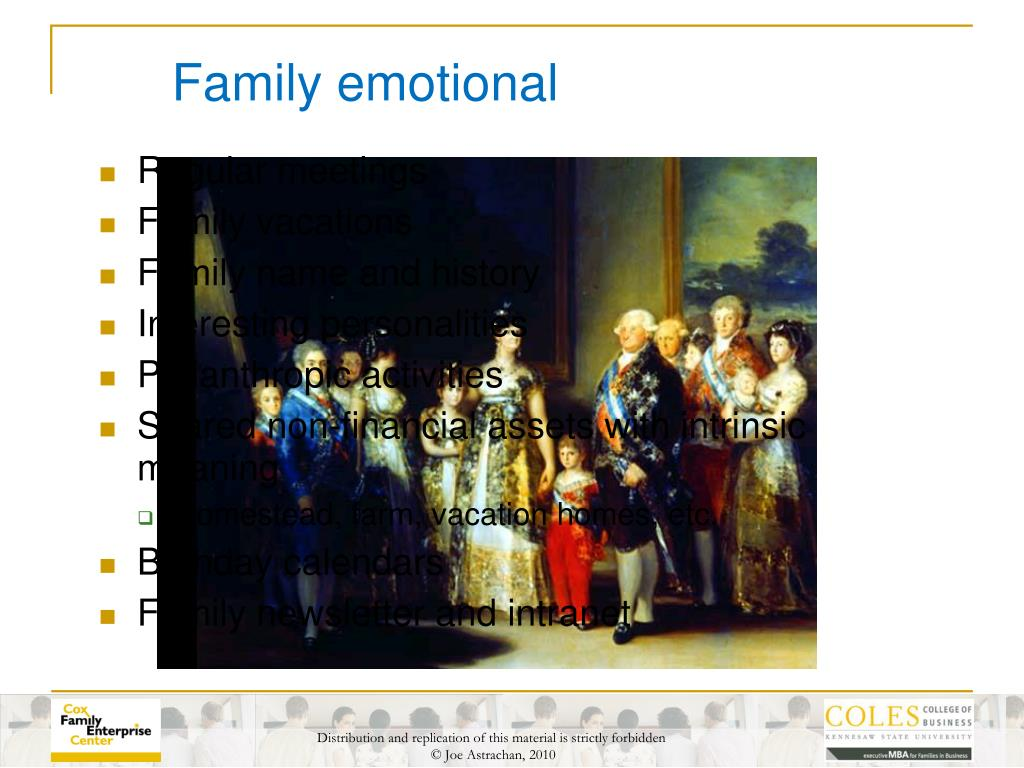 Family emotional