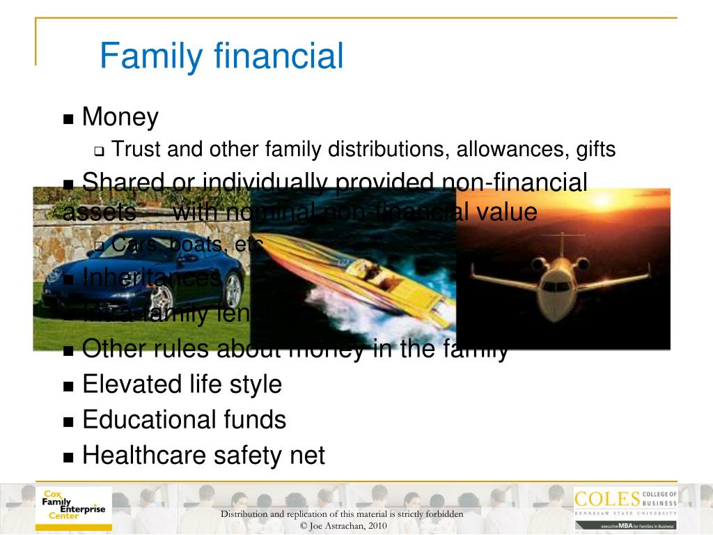 Family financial