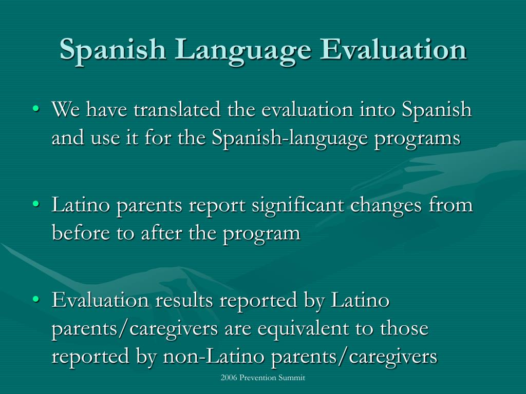 Spanish Language Evaluation