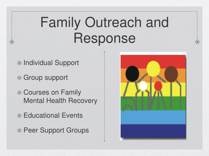 Family outreach and response l.jpg