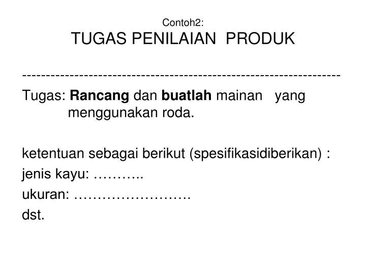 Contoh2:
