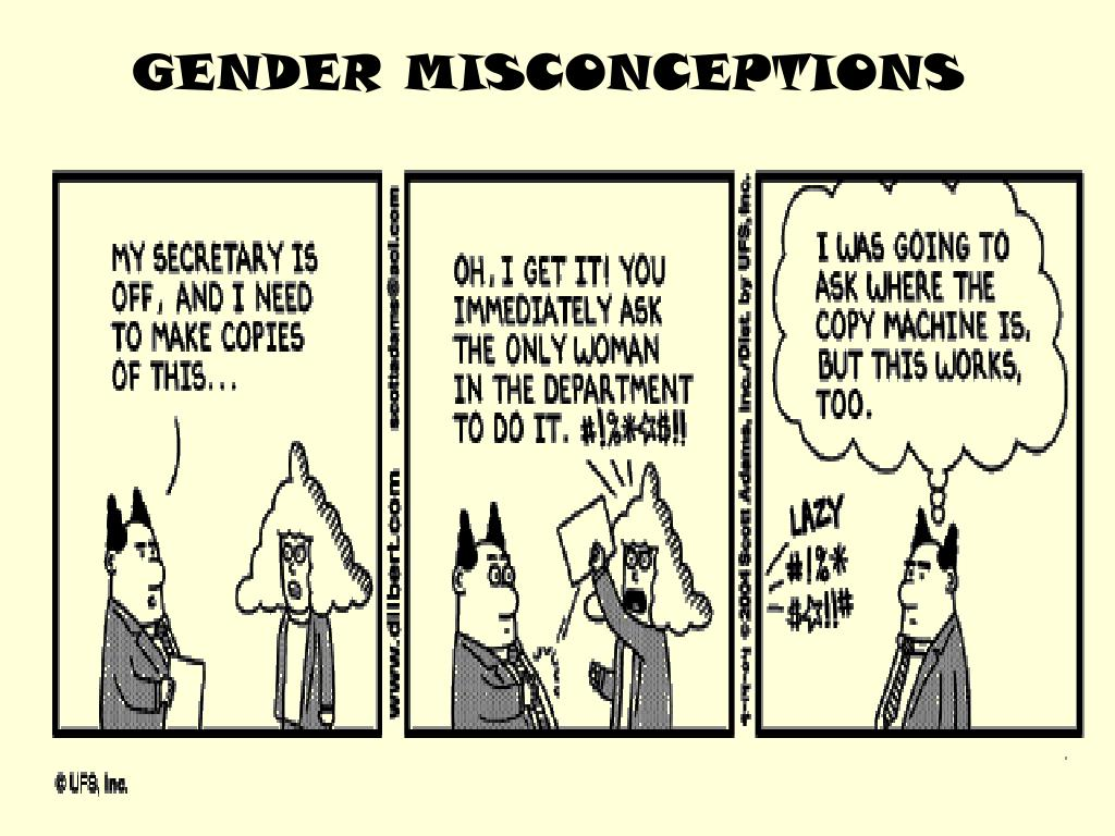 GENDER MISCONCEPTIONS