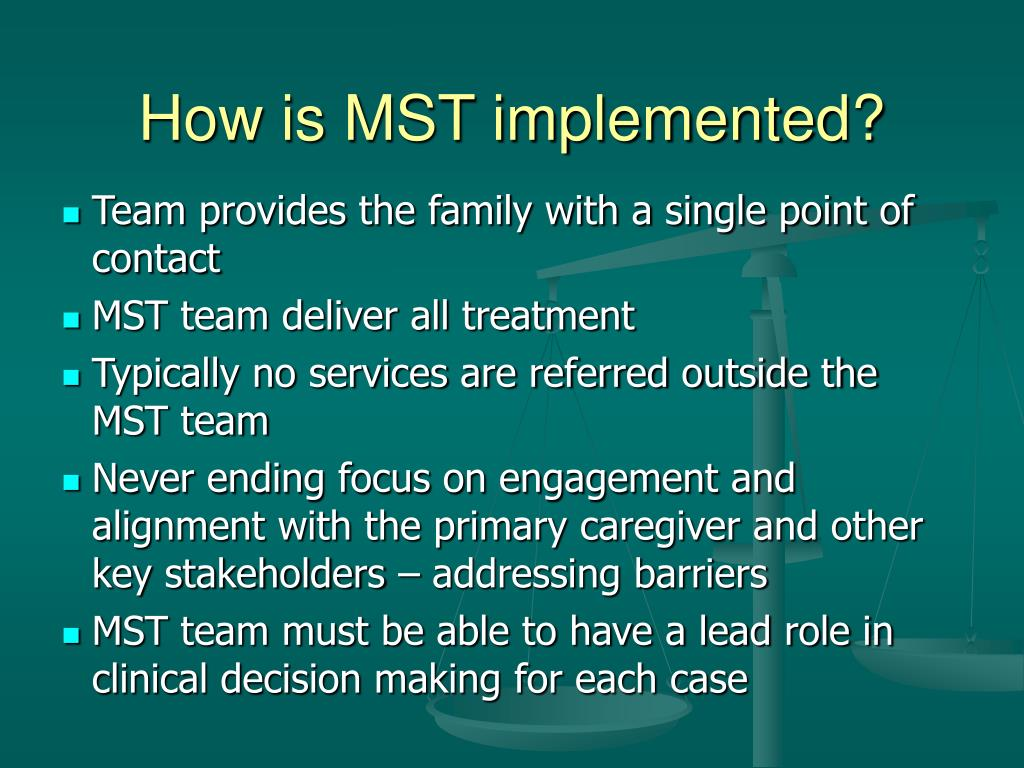 How is MST implemented?