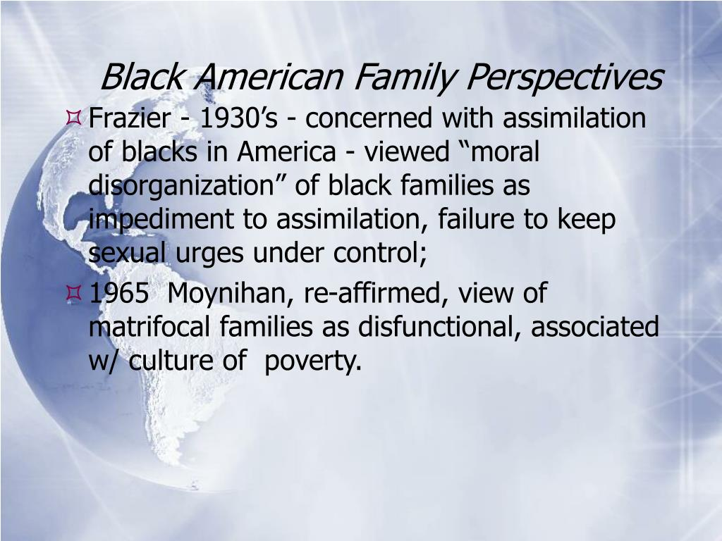 Black American Family Perspectives