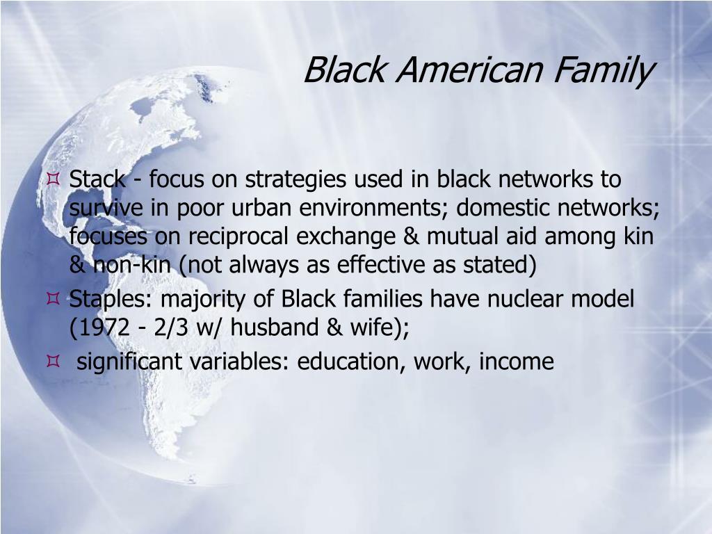 Black American Family