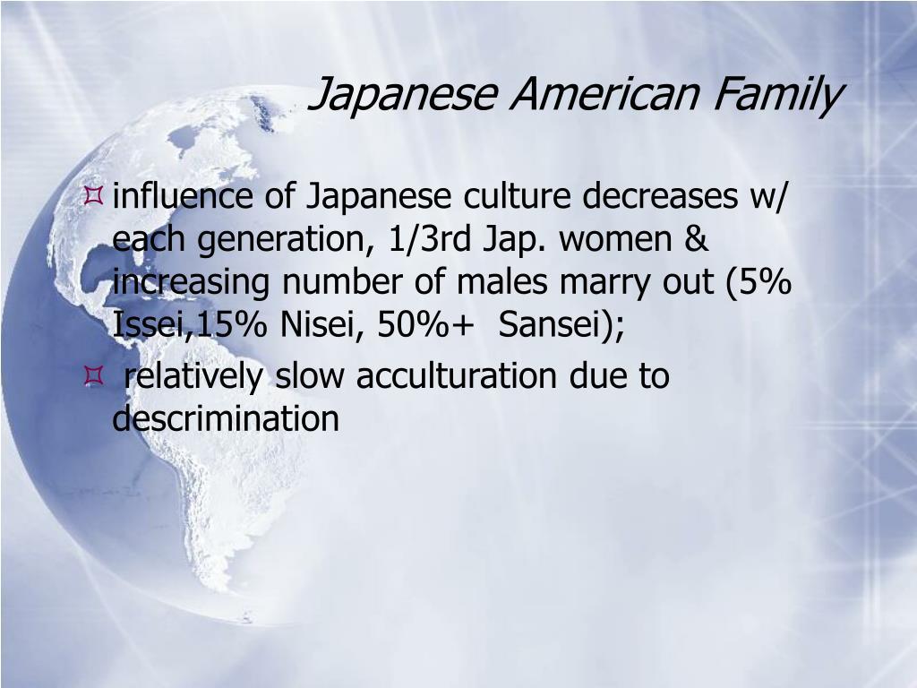 Japanese American Family