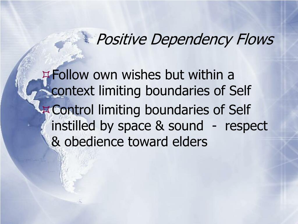 Positive Dependency Flows