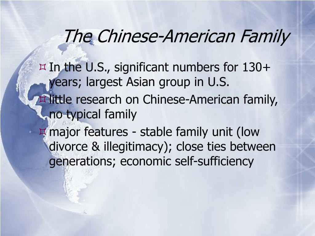 The Chinese-American Family
