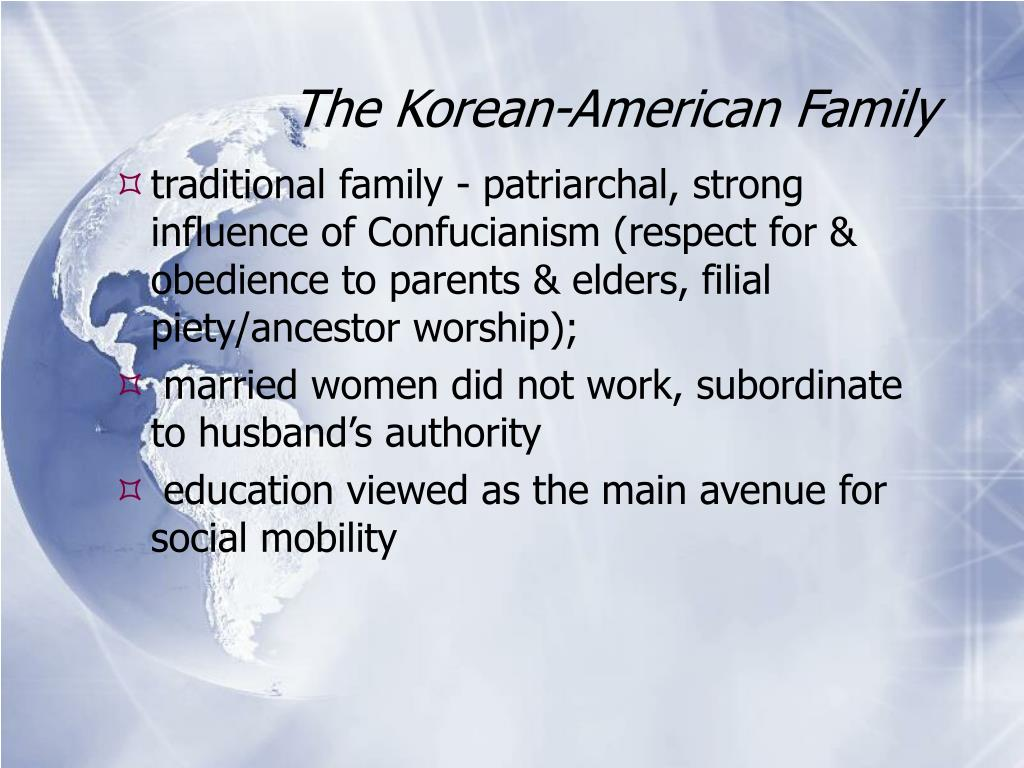 The Korean-American Family