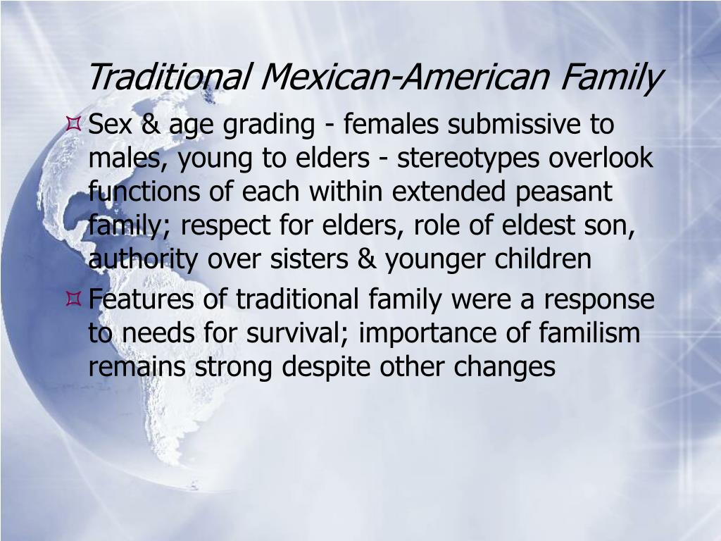 Traditional Mexican-American Family