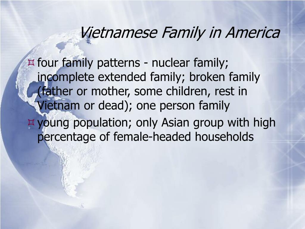 Vietnamese Family in America