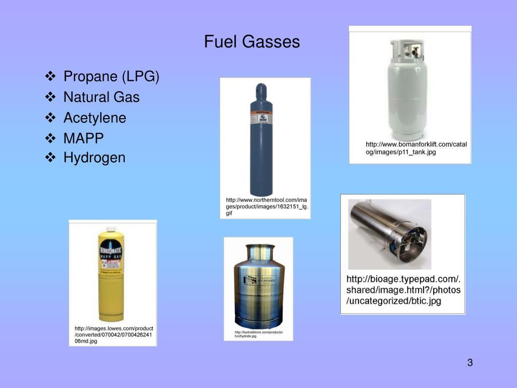 Fuel Gasses