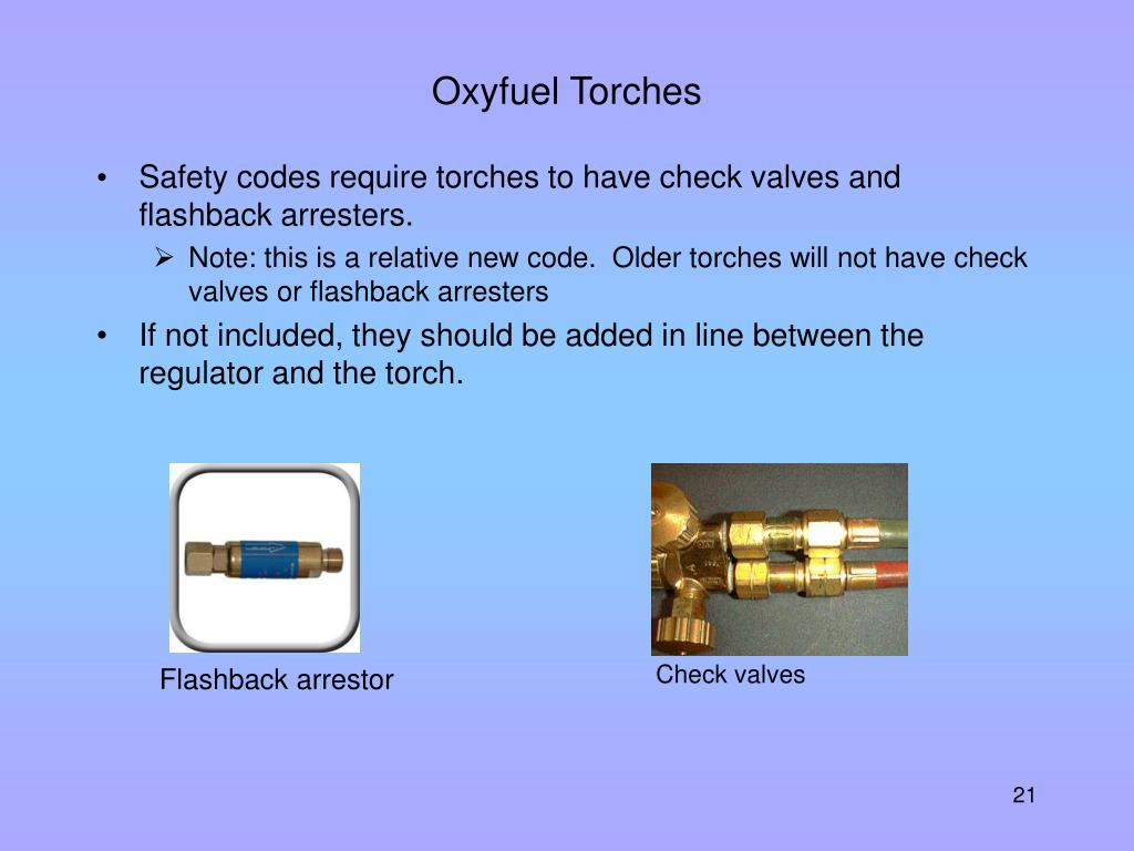 Oxyfuel Torches