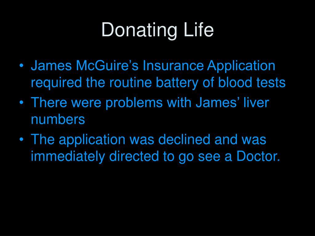 Donating Life