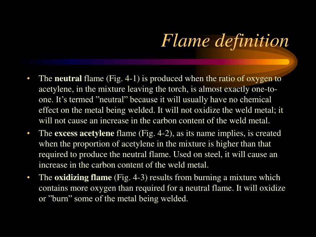 Flame definition