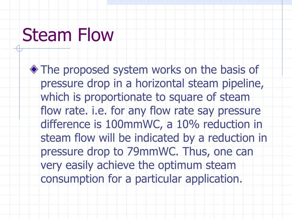 Steam Flow