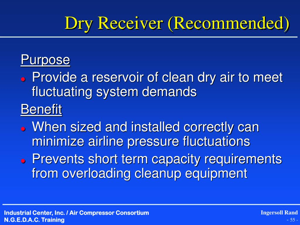 Dry Receiver (Recommended)