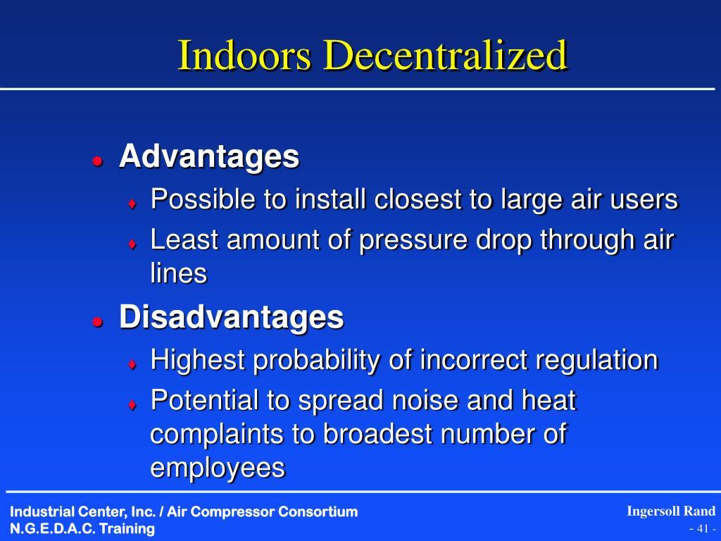 Indoors Decentralized