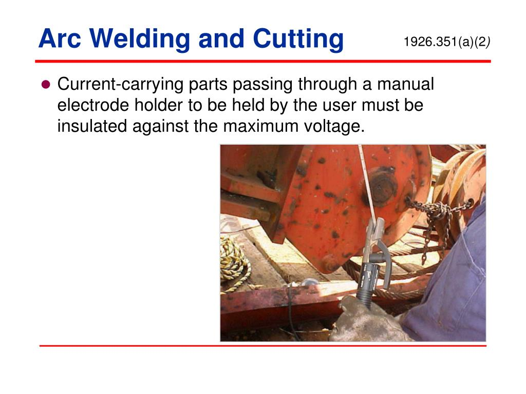 Arc Welding and Cutting