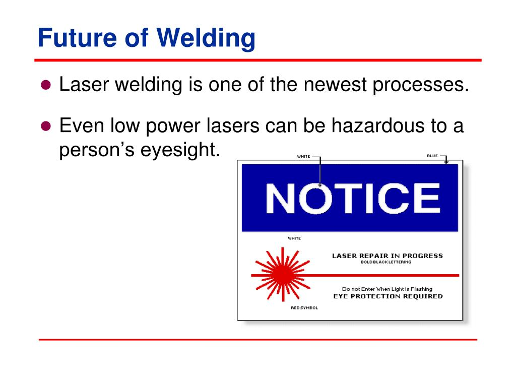 Future of Welding