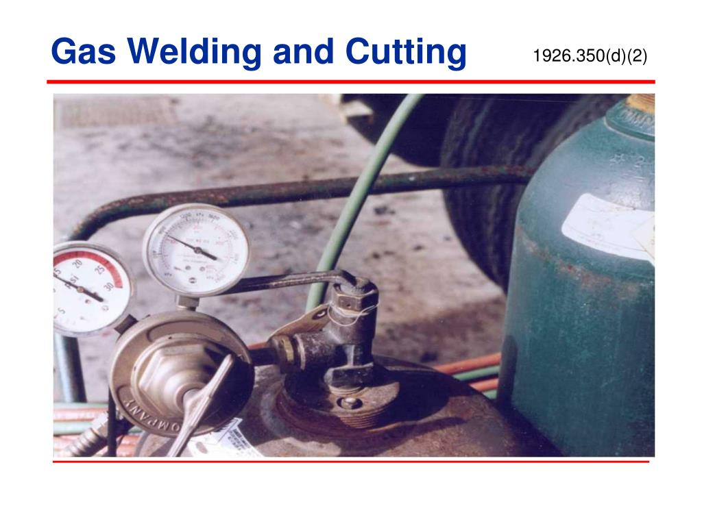 Gas Welding and Cutting