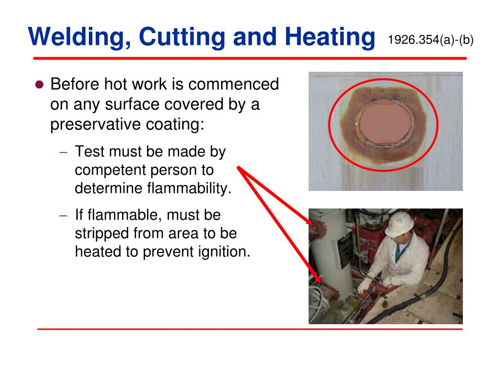 Welding, Cutting and Heating