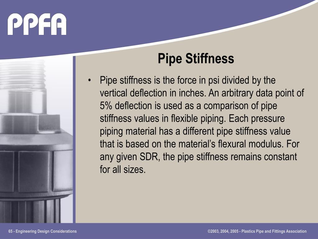 Pipe Stiffness