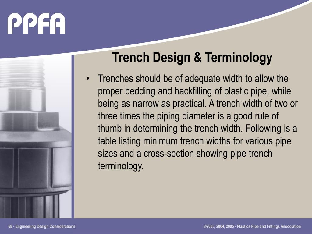 Trench Design & Terminology