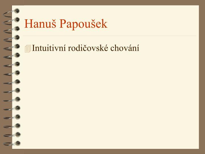 Hanuš Papoušek