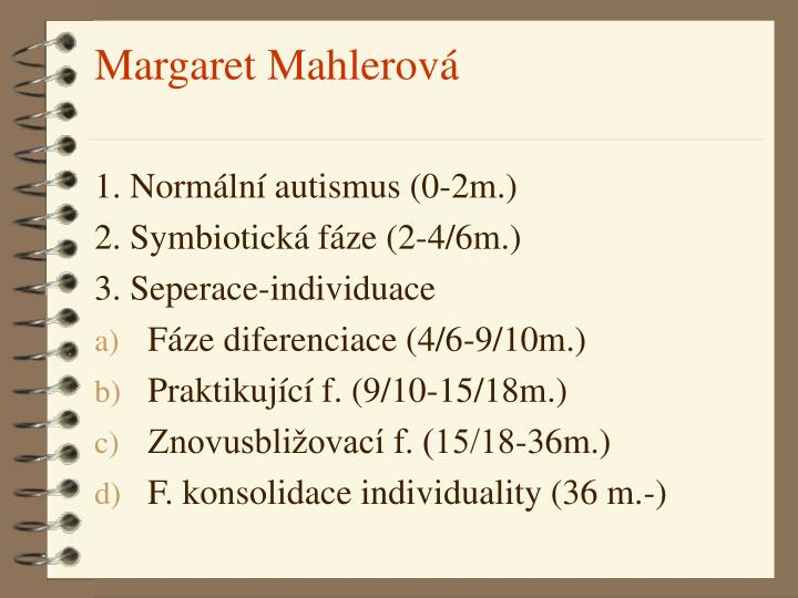 Margaret Mahlerová