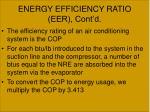 energy efficiency ratio eer cont d