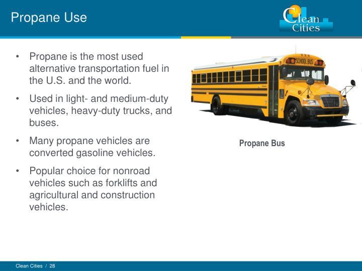 Propane Use